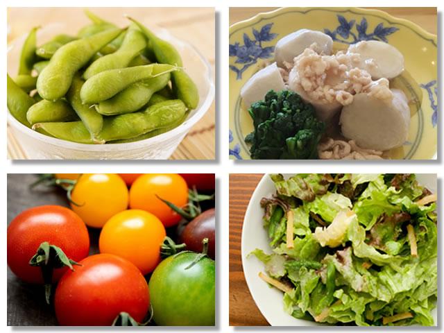 ビタミンB1の多い野菜