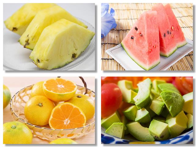 ビタミンB1の多い果物