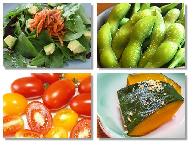 ビタミンB2の多い野菜