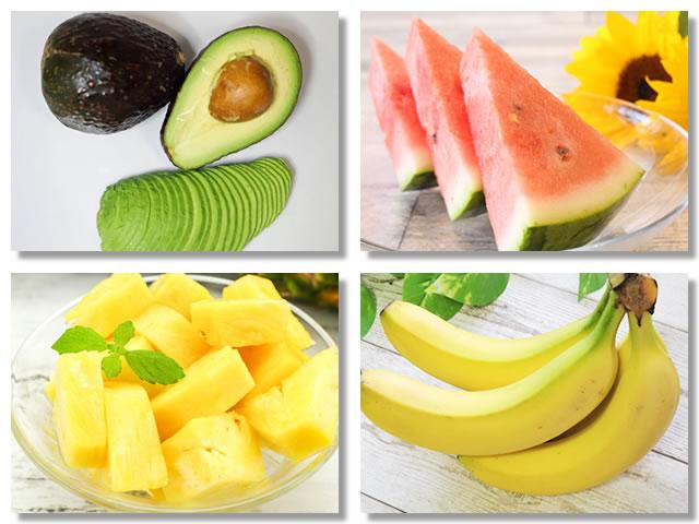 ビタミンB2の多い果物